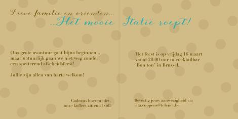 Uitnodiging! - Uitnodigingskaart