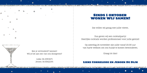 Uitnodiging - Let's party!