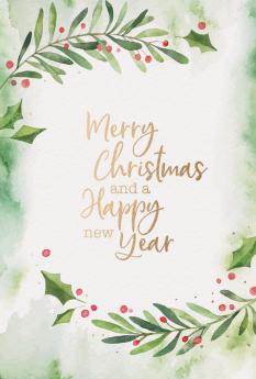 Kerst- & Nieuwjaarskaarten 631016N