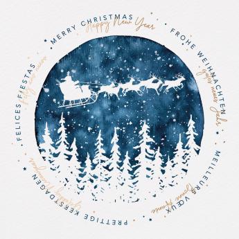 Cartes de Noël et Nouvel An 631018F