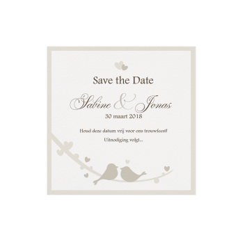 Save the date 726531