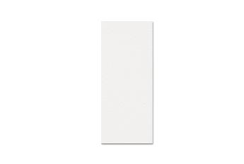 6.0x16.5 cm rechthoek enkel