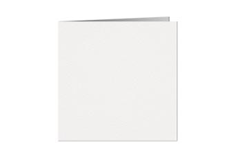 10.5x10.5 cm vierkant dubbel