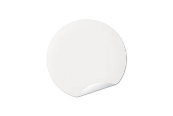 7.3x7.3 cm ronde sticker