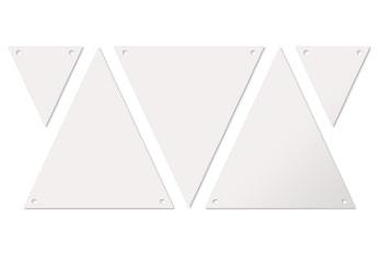 13.0x14.0 cm Vlaggenlijn